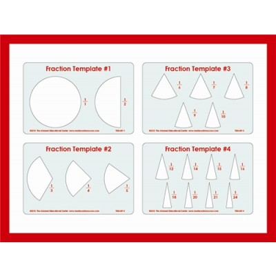 Fraction Templates (One Whole to the 24ths)
