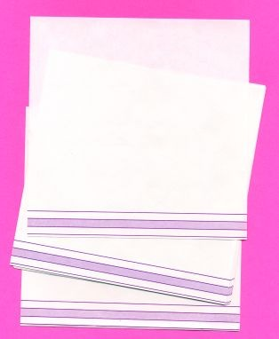 "BLANK 5.5"" SQUARE WITH PURPLE SHADED LINES ● F-705"