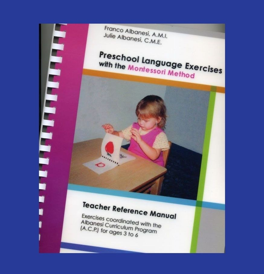 Primary Language Manual of Montessori Presentations ● Book-TRM-PRE-L