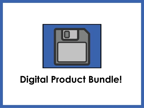 DIGITAL PRODUCT BUNDLE ● List of Files Sent with Separate Email