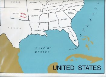Cardboard Map of USA/States/English  GZ-223.A2       ►COMPLIMENTARY-ITEM◄