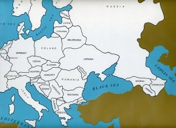 Cardboard Map of Europe/Countries/English   GZ-226.2    ►COMPLIMENTARY-ITEM◄