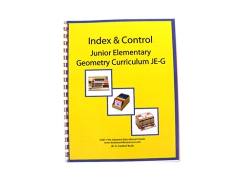 Geometry Control Book & Instruction Manual for Ages 6-9 ● JE-G.C