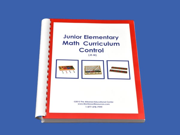 Junior Elementary Math Control & Instruction Manual ● JE-M.C