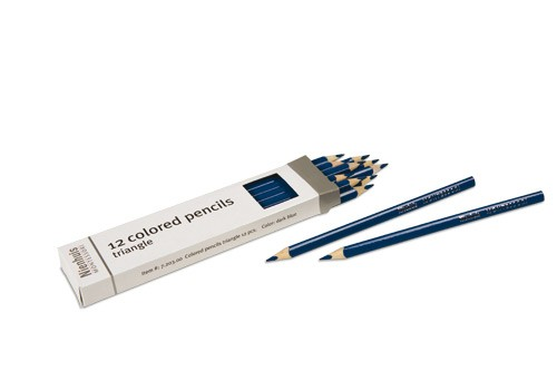 Box of 12 pencils: dark blue/720300    NH-051.6      ♣AVAILABLE qty 6♣