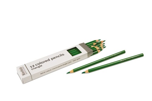 Box of 12 pencils: green/720400     NH-051.7     ♣AVAILABLE QTY 2♣