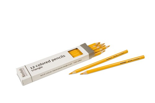 Box of 12 pencils: yellow/720700     NH-051.10      ♣AVAILABLE qty 1♣