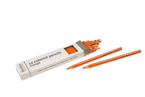 Box of 12 pencils: orange/720800     NH-051.11    ♣AVAILABLE qty 9♣