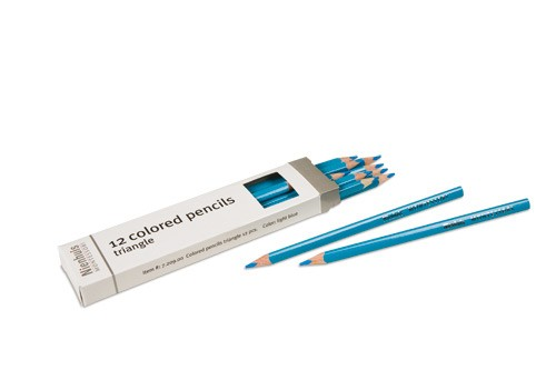 Box of 12 pencils: light blue/720900    NH-051.12    ♣AVAILABLE qty 2♣