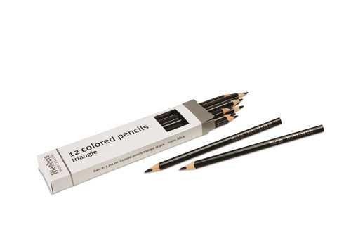 Box of 12 pencils: black/721100    NH-051.14     ♣AVAILABLE qty 4♣