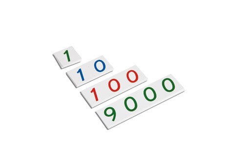 Small numeral cards 1-9000/ 0071C0       NH-098.1   ■SOLD OUT■QUOTE REQUIRED■
