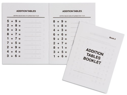 Addition Tables Booklet 3 /559523        NH-116.3          ■SOLD OUT■