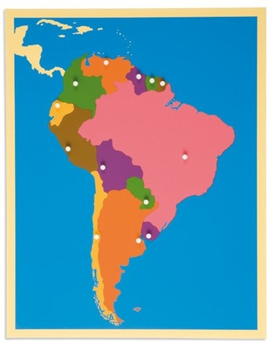 SOUTH AMERICA – Puzzle Map/0176E0 NH 225 □SOLD OUT□