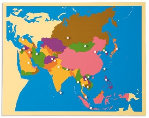 ASIA – Puzzle Map/0176G0     NH-227    ■SOLD OUT■QUOTE REQUIRED■