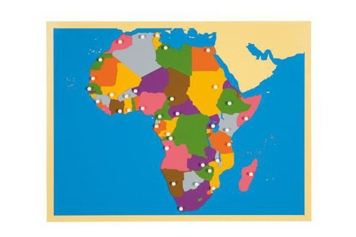 AFRICA – Puzzle Map/0176F0      NH-228      ■SOLD OUT■