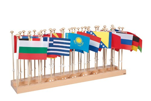 Flag Stand & Flags - Europe/023300    NH-231.1   ■SOLD OUT■QUOTE REQUIRED■