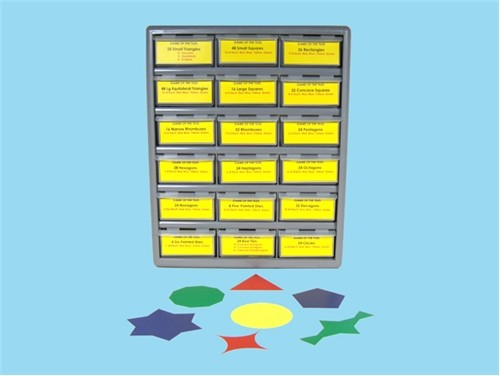 Plastic Storage Box for The Game of the Tiles ● BOX-G-512