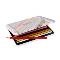 ►►AVAILABLE◄◄   Metal Box with 12 Assorted Pencils/ A061266