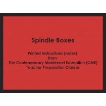 Spindle Boxes (CME notes) ● MATH-CME-085