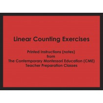 Linear Counting Exercises (CME notes) ● MATH-CME-108