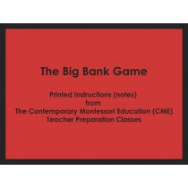 The Big Bank Game (CME notes) ● MATH-CME-144