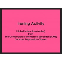 Ironing Activity (CME notes) ● PL-CME-003
