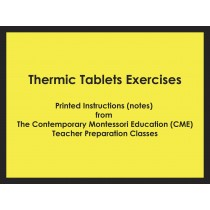 Thermic Tablets Exercises (CME notes) ● SENS-CME-037