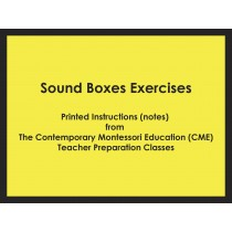 Sound Boxes Exercises (CME notes) ● SENS-CME-038