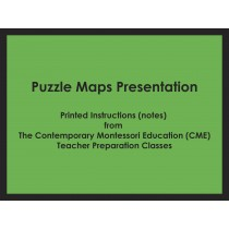 Puzzle Maps Presentation (CME notes) ● SENS-CME-221-229
