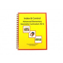 Geometry Control Book & Instruction Manual for Ages 9-12 ● AE-G.C     ■OUT OF STOCK■