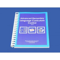 Language Control Book & Instruction Manual for Ages 9-12 ● AE-L.C       ♣AVAILABLE  qty 11♣