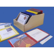 Classified Nomenclature of Geography Wooden Box ● BOX-CN-430