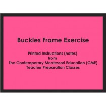 Buckles Frame Exercise (CME notes) ● PL-CME-001.10