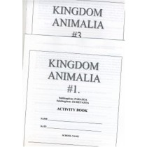 ANIMALIA Set of 3 Activity Books only ● CL-650-C