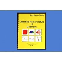 ■ OUT OF STOCK■ Teacher's Control for Geometry Nomenclature ● CN-100.C