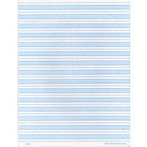 Blue Shaded Paper Full Page (Print) ● F-700