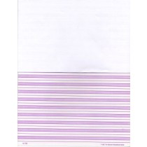 Purple Shaded Paper Half Page (Cursive) ● F-703