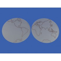 Planisphere Circles for Tracing (two) ● GE-01-PL