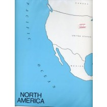 Cardboard Map of N Am/Countries/English GZ-222.2     ►COMPLIMENTARY-ITEM◄