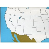 Cardboard Map of USA     GZ-223.A1      ►COMPLIMENTARY-ITEM  qty 7◄