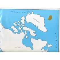 Cardboard Map of CANADA /Provinces/English GZ-223.CA2