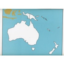 Cardboard Map of Oceania    GZ-229.1    ►COMPLIMENTARY-ITEM◄
