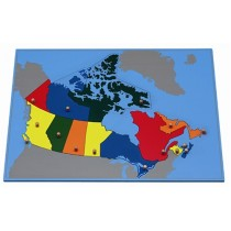 PUZZLE MAP OF CANADA        GZ-223.B.CA      ♣AVAILABLE (qty 2)♣