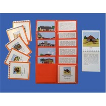 The History of The Fundamental Needs of Humans (Vertical Series) LAMINATED ● H-501-506 Vertical