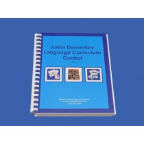 Language Control Book & Instruction Manual for Ages 6-9 ● JE-L.C       ♣AVAILABLE  qty 1♣