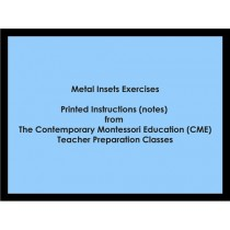 Metal Insets Exercises (CME notes) ● LANG-CME-050