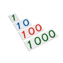 Plastic Number Cards 1 to 1000/ 0069C0