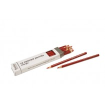 Box of 12 pencils: red/720200