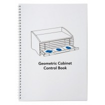Geometry Cabinet Control Book/ 0037B1   NH-028.2  ♣AVAILABLE qty 2♣
