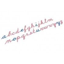 ■QUOTE REQUIRED■    Large Cursive Movable Alphabet /0059A4